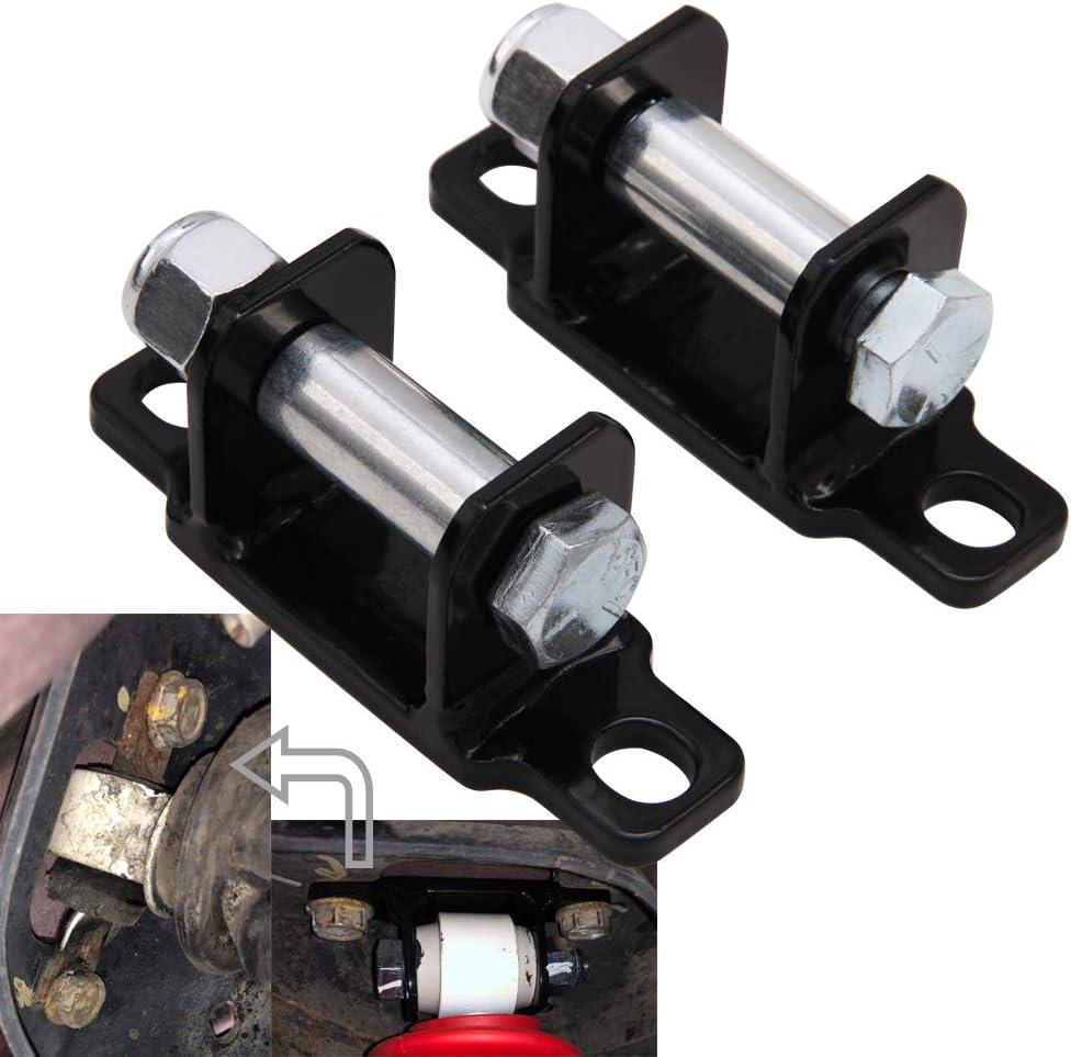 Rear Shock Upper Bar Pin Eliminator Kit Fits for 1997-2018 Jeep Wrangler JK TJ