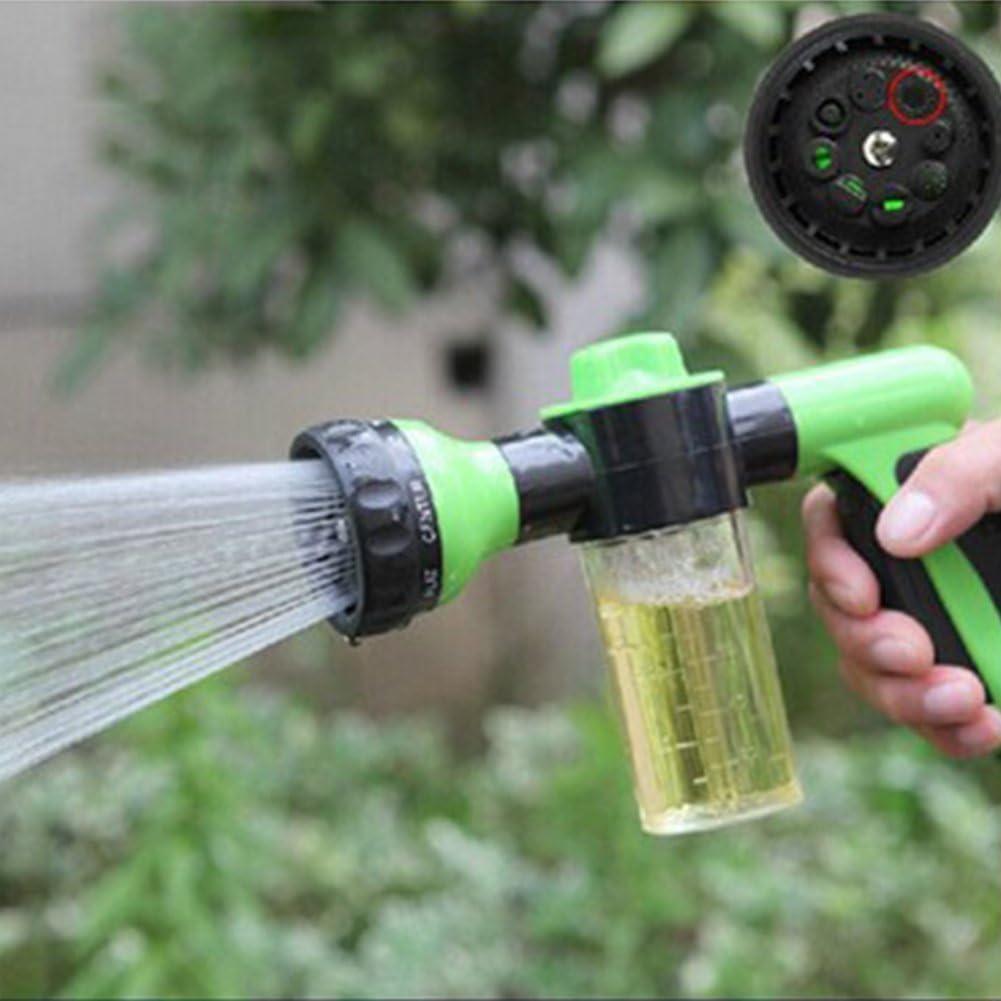 Pistola de Agua para regar Las Plantas, Pistola de Agua de Lavado de Mascotas, Pistola para Limpiar el Coche