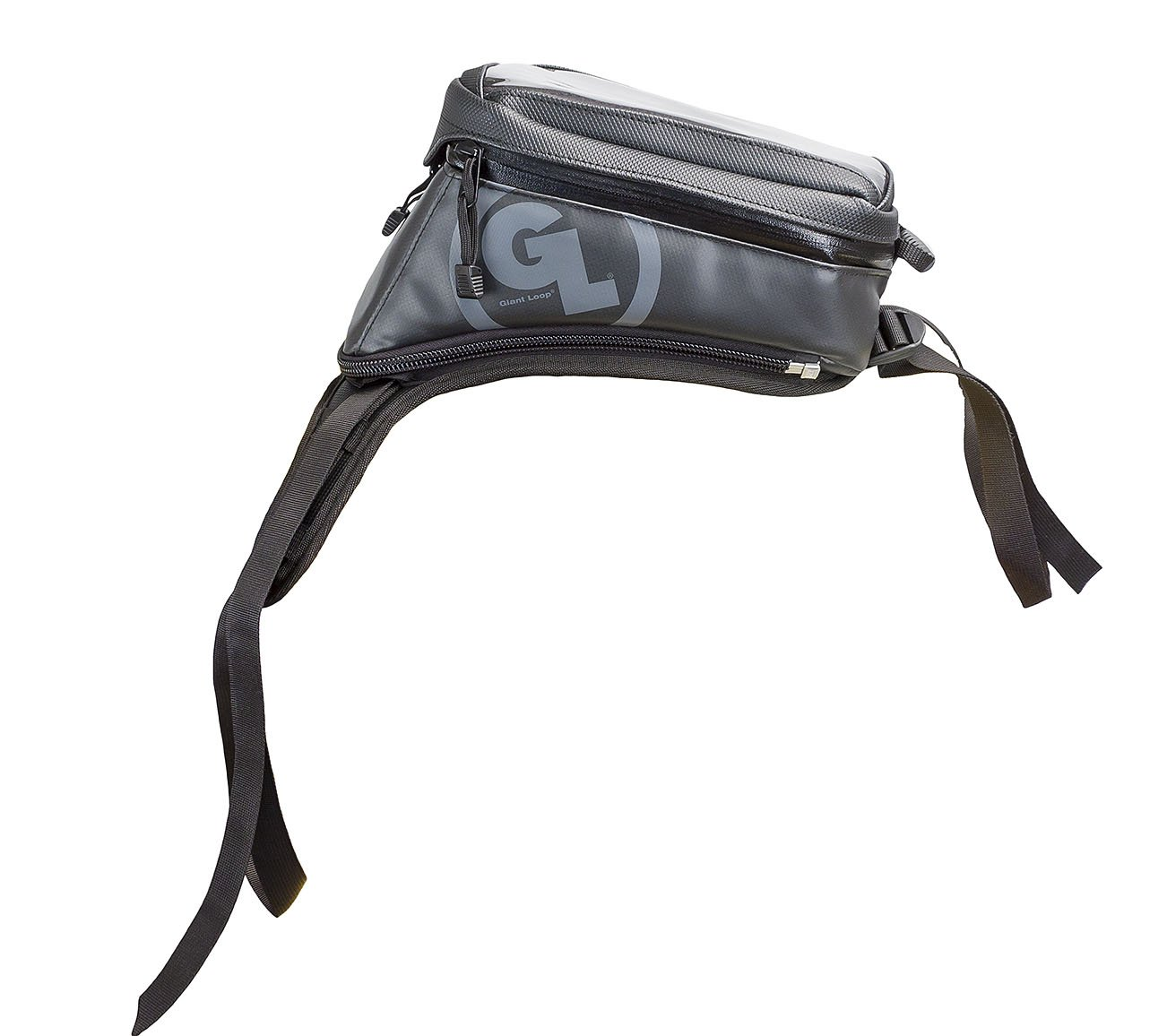 4 Liter Capacity Giant Loop DTB-GRAY Diablo Tank Bag
