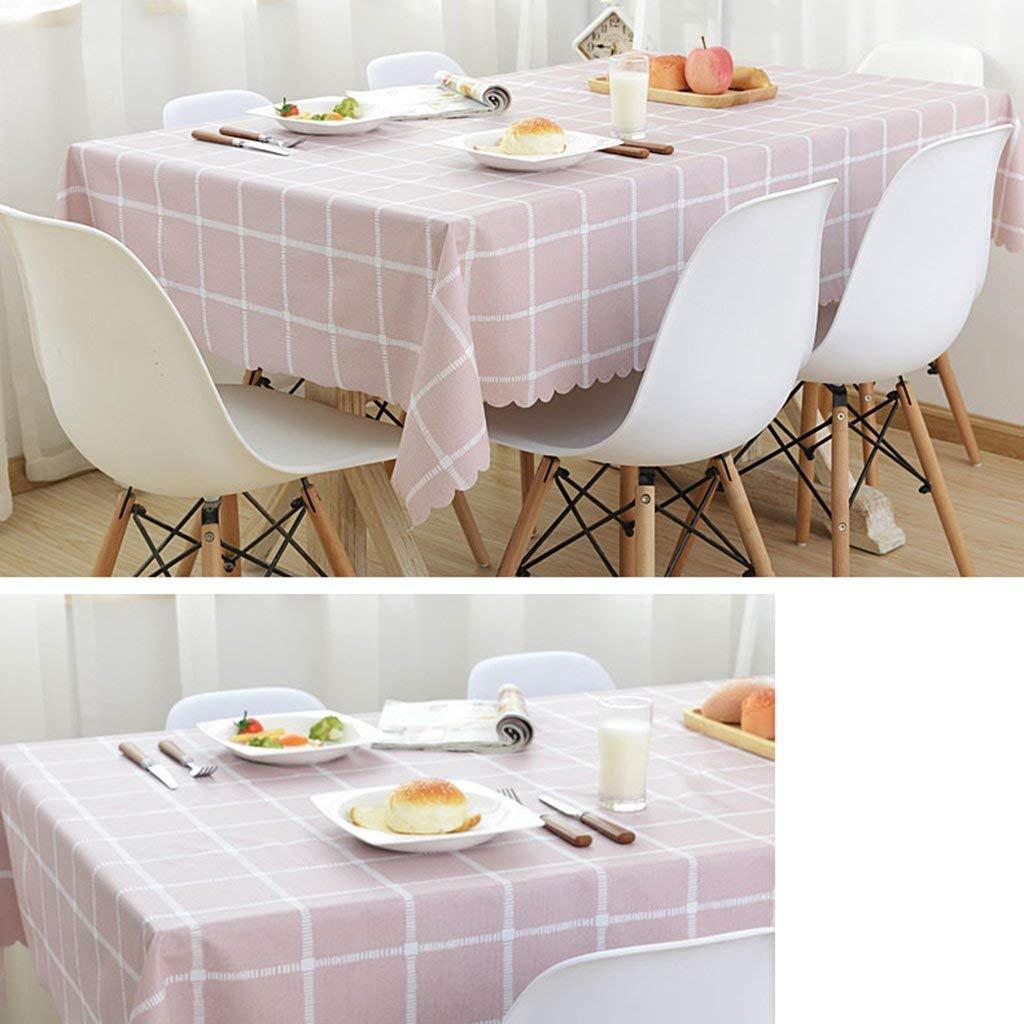 QYM テーブルクロス防水、アンチケルディング、オイルルーフ、清掃が簡単、現代的、シンプル、厚手、テーブルクロス、コーヒーテーブルクロス   B07SPB1JMP