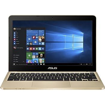 "Asus Portable 11.6"" Intel Quad-Core Laptop 4GB Ram 32GB Storage, Windows 10, Aurora Gold (E200HA-UB02-GD)"