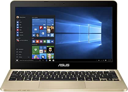 ASUS E200HA Portable Lightweight 11.6-inch Intel Quad-Core Laptop, 4GB RAM, 32GB Storage, Windows 10 with 1 Year Microsoft Office 365 Subscription
