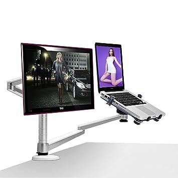 DS Ⓡ Soporte para computadora portátil, soporte para monitor, soporte para computadora de uso