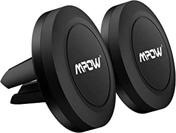 2-Pack Mpow Air Vent Magnetic Car Mount Cell Phone Holder