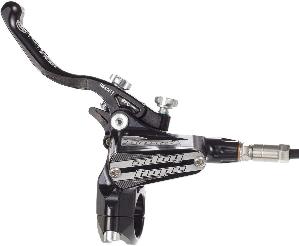 Hope Tech 3 X2 XC Brakes All Colors Black // Braided Hose Brand New