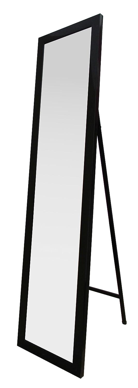 Nero King Home S1710526 Specchio da Pavimento con Cornice 30X150H