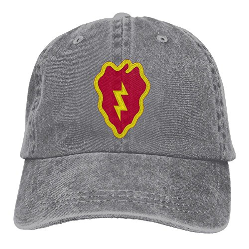 BETARIAN Army 25th Infantry Division Embroidered Low Profile Plain Baseball Hat Dad Trucker Hat
