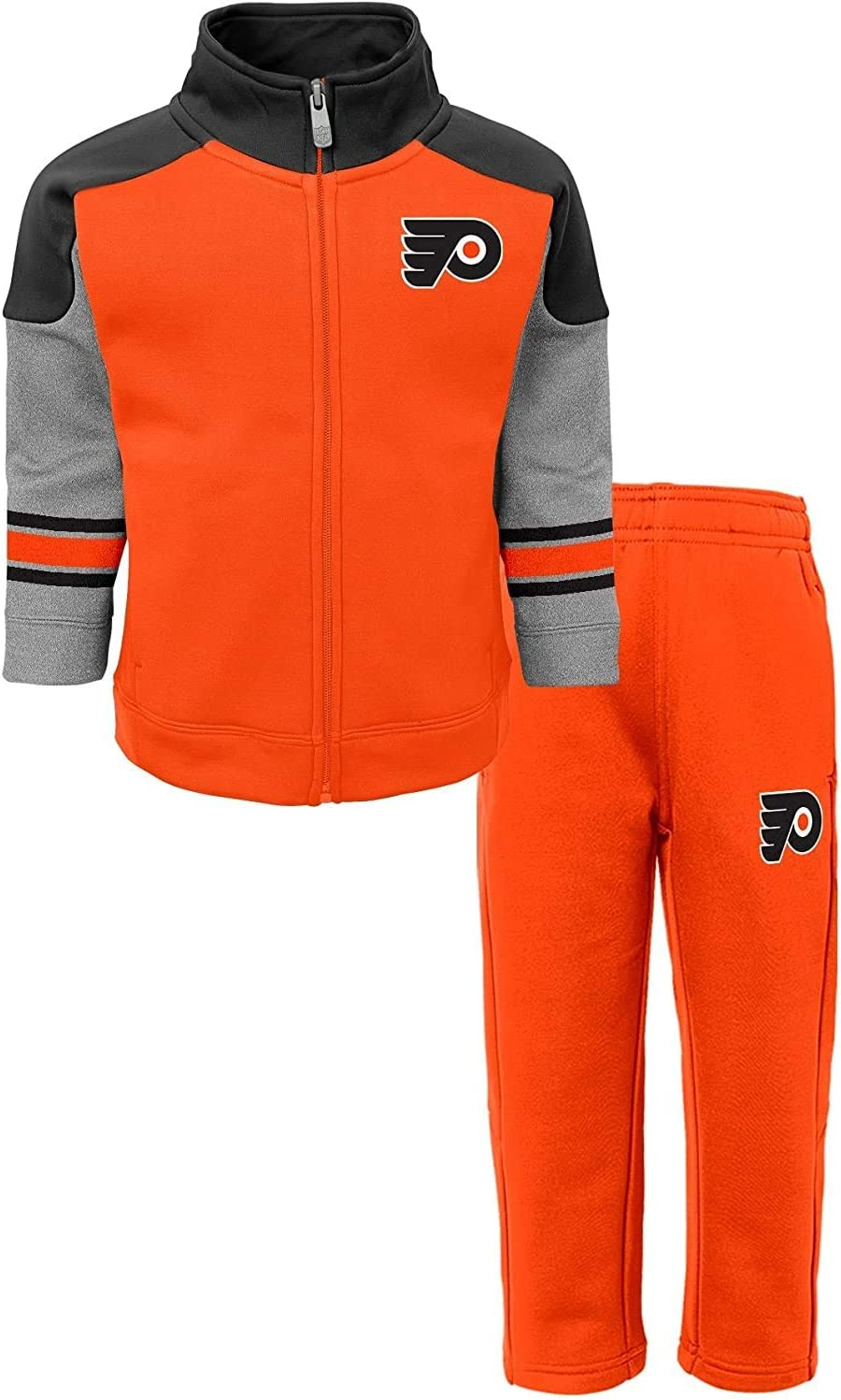 Outerstuff NHL Kids 4-7 Shutdown Full Zip Track Jacket and Pants Set