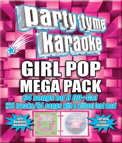 Mega Karaoke (Party Tyme Karaoke - Girl Pop Mega Pack (64+64-song Mega Pack) [8 CD])