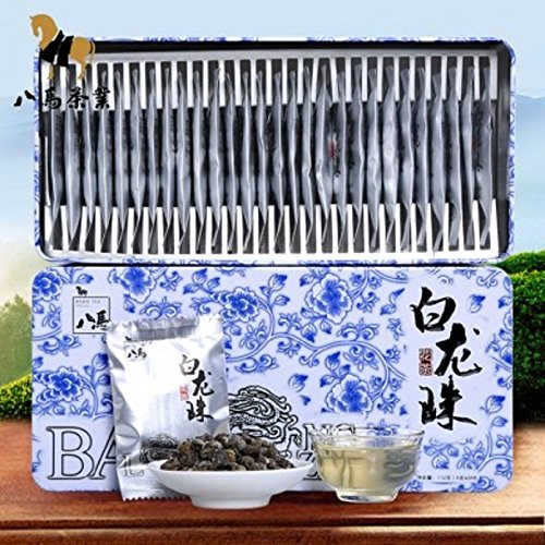 Bama tea 2016 fresh tea white dragon bead jasmine tea Authentic tea 4g28packag by Yichang Yaxian Food LTD.