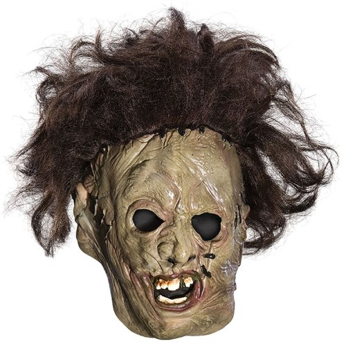 [Leatherface 3/4 Mask Costume Accessory] (Texas Chainsaw Massacre Costume For Kids)