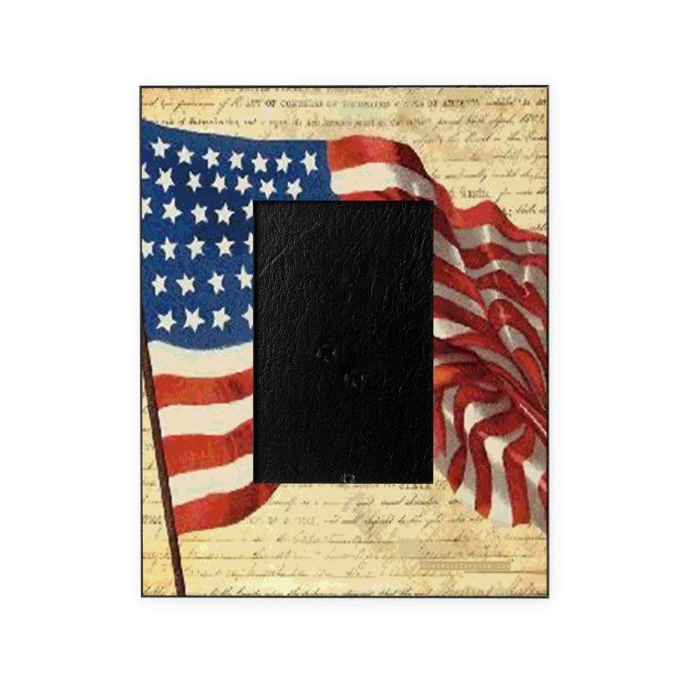 CafePress - Vintage American Flag Constitution - Decorative 8x10 Picture Frame