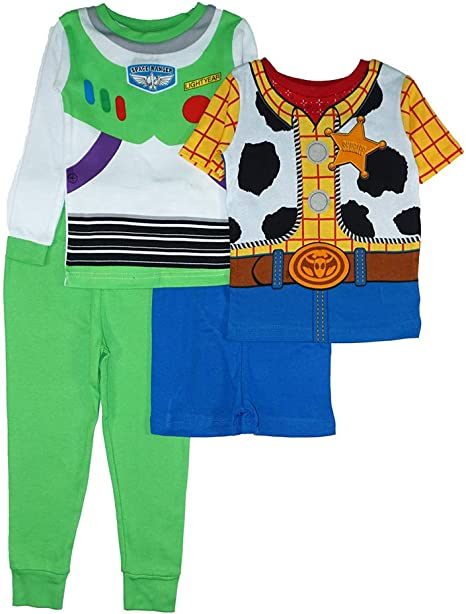 DISNEY TOY STORY 4 WOODY PAJAMAS SIZE 2T 3T 4T 5T NEW!