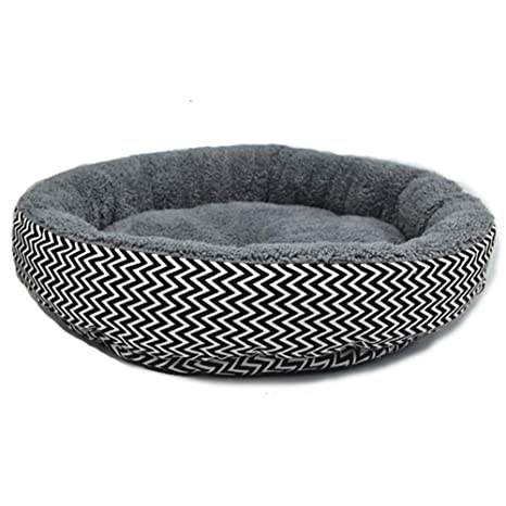 Westeng Casa para Mascotas Redondo Cama de Perro De Sofa Perro Gato Size L(45