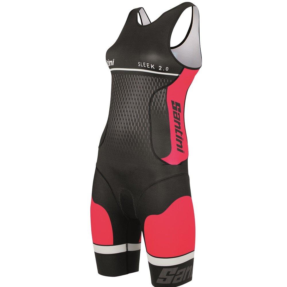 TALLA Large. Santini Fashion Sleek Aero - Culote de Ciclismo para Hombre