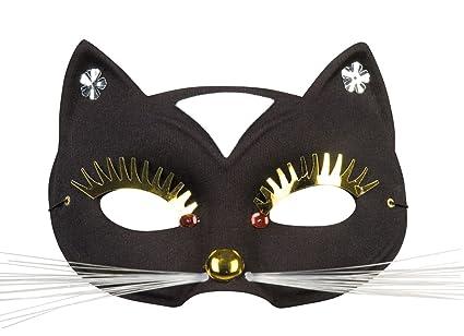 Boland 00329 Ojo Máscara gato, mujer, One size