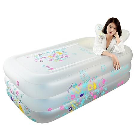 Bañeras con Jacuzzi Baño Inflable Adultos baño para el hogar ...