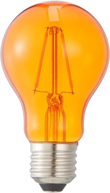 Osram LED Star Classic A D/écor Blue Lampe Dekoratives blaues Licht und Design in Kolbenform mit E27-Sockel Ersetzt 15 Watt 1er-Pack