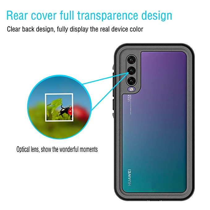 Amazon.com: iPromama Waterproof Huawei P20 Pro Case [ ONLY ...