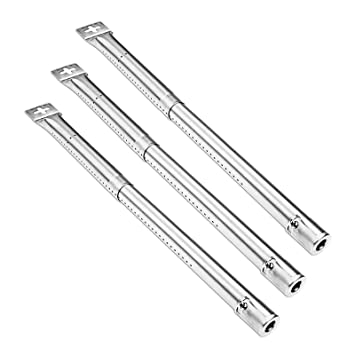 Bar.BS 3 Pack 42204 Parrilla de gas BBQ Parrillas de repuesto universales de acero inoxidable para Campingaz, CCLIFE, Landmann, Char-Broil, ...