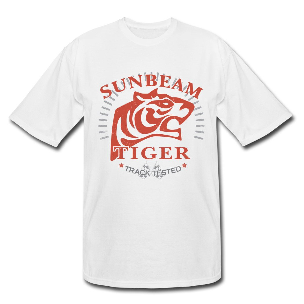 WEIXIAO Natural Fabric Sunbeam Tiger Track Tested White White men Clothing