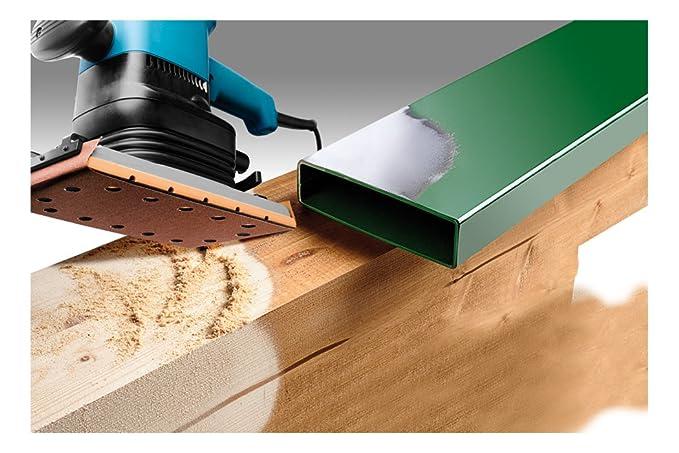 KWB 49818724 Pack Patines abrasivas Set de 10 Piezas 115x280mm