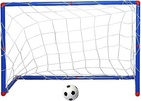 TRIXES Mini Arco de Fútbol para Niños y Chicos. Postes con Red ...