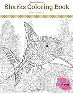 Amazon.com: Shark Coloring Book: A Coloring Book for Adults ...