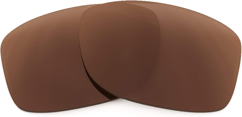 Revant Verres de Rechange pour Oakley Jupiter Squared - Compatibles avec les Lunettes de Soleil Oakley Jupiter Squared Marron Foncé - Polarisés Elite