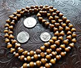 Awaken Your Kundalini Tulsi Holy Basil Prayer Beads, 8mm, 108 Beads