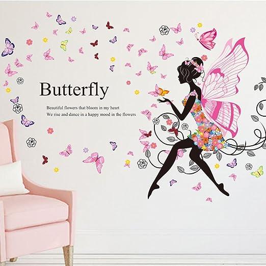 Home Decor Schmetterling Madchen Wohnzimmer Schlafzimmer Wandtattoo Wandsticker Butterfly Home Furniture Diy Rpqualitycontrol Com Br