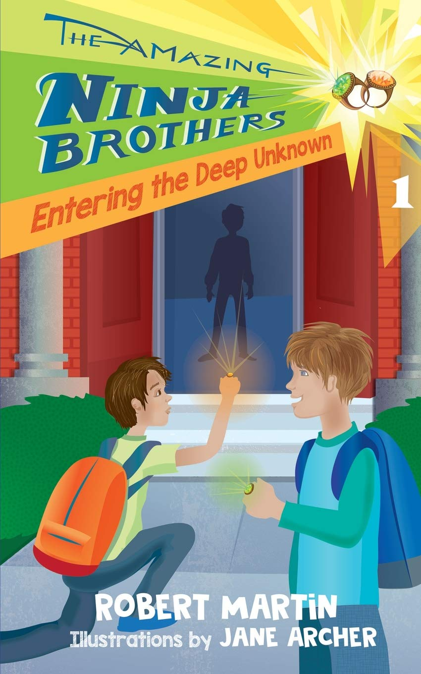 Entering the Deep Unknown The Amazing Ninja Brothers: Amazon ...