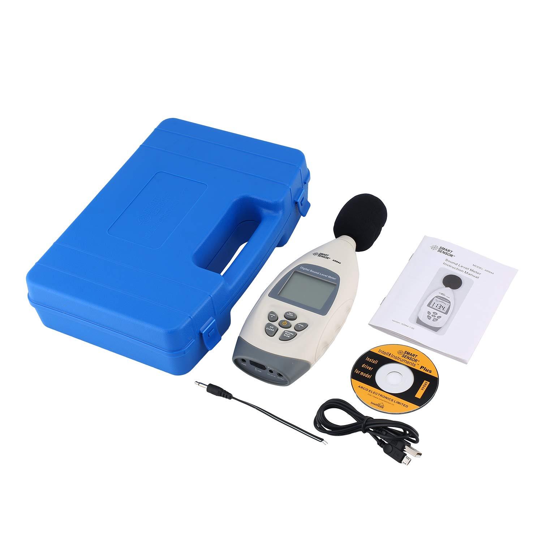 SMART SENSORAR844 Sound level meters Decibel meter logger ...