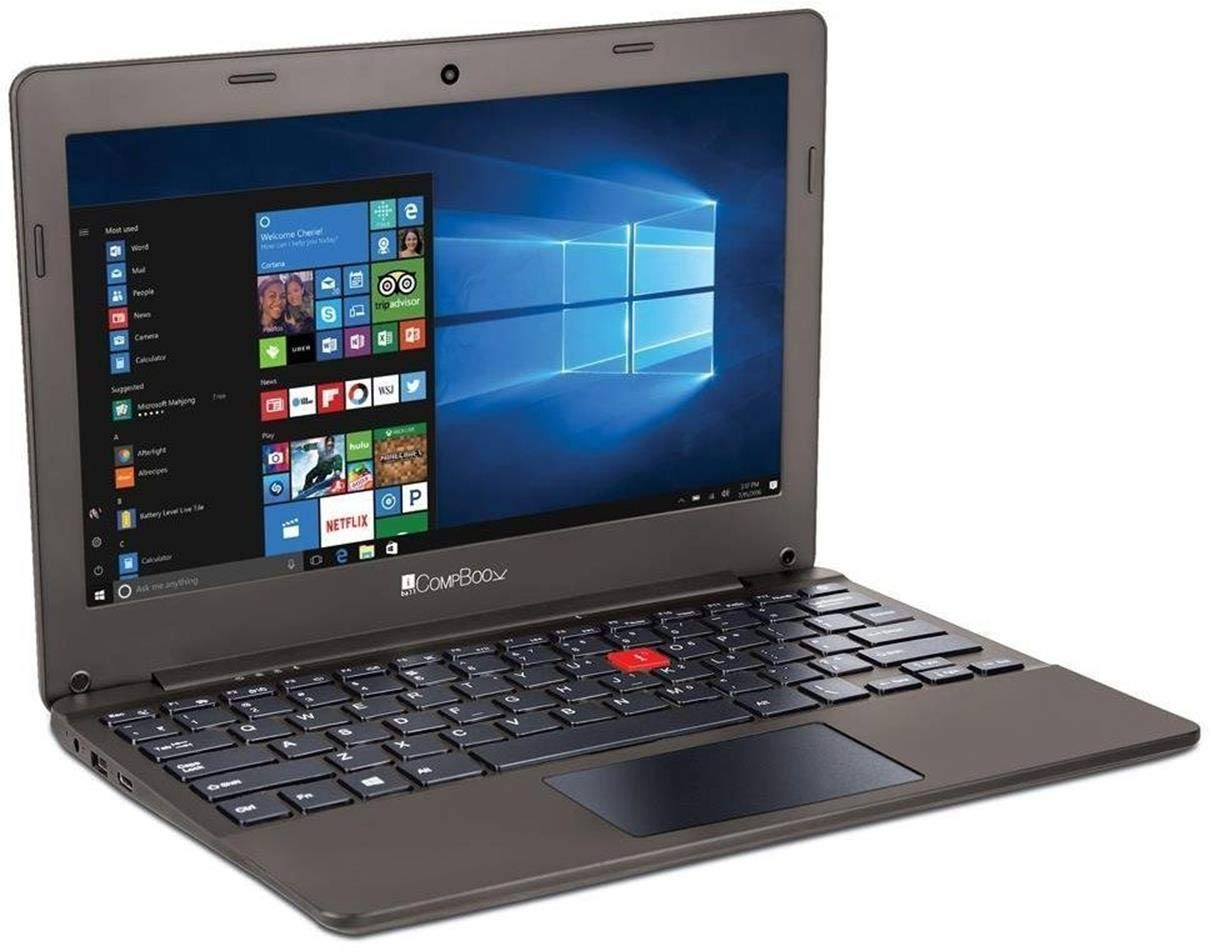 iBall CompBook Excelance-OHD (Intel Atom Processor X5 - Z8350/2 GB/32 GB/29.46cm (11.6 )/Win 10) (Chocolate Brown)