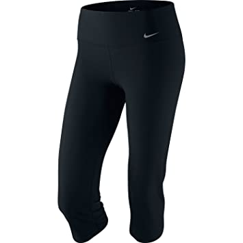 Amazon.com: Nike Women's Capri Poly Slim Fit 472352-010: Sports ...