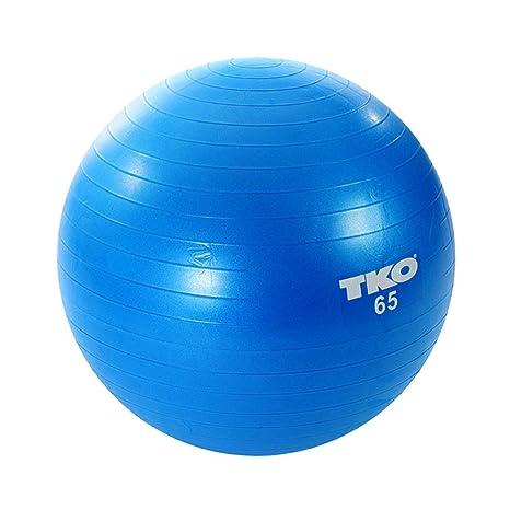 TKO - Pelota de Gimnasia (65 cm), Color Azul: Amazon.es: Deportes ...