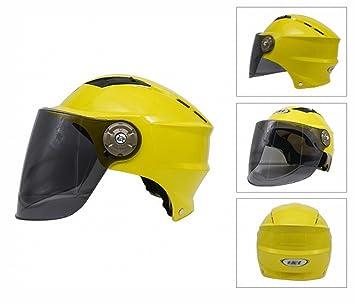 GUO Cascos de Moto Cascos de Verano Cascos Cascos Eléctricos Protección Uv Sombreros para el Sol