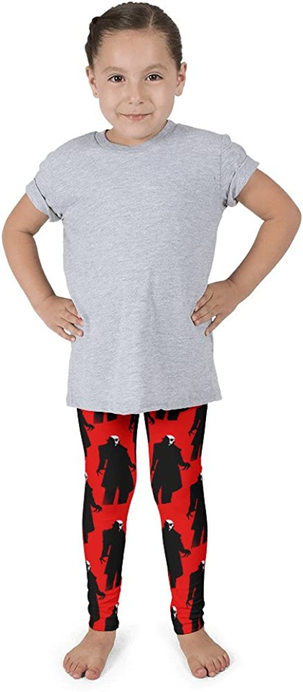 red Nosferatu Kids Leggings