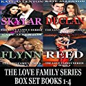 The Love Family Series Box Set, Books 1-4 Audiobook by Kate Allenton Narrated by Robin J. Sitton