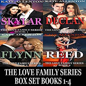 The Love Family Series Box Set, Books 1-4 Audiobook