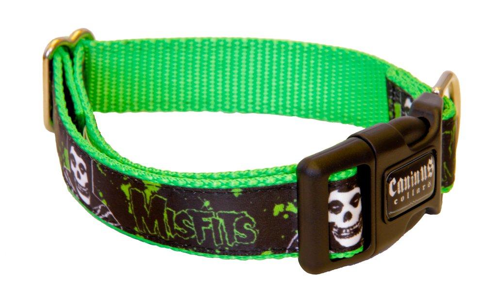 Caninus Collars Misfits Splatter Fiend 1 Width Dog Collar
