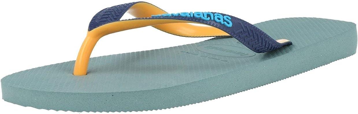 Blue Havaianas Mens Brasil Mix FC Flip Flops