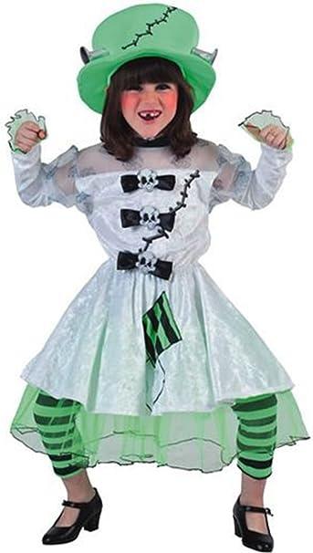 Disfraz de novia Frankenstein niña - 10-12 años: Amazon.es: Ropa ...