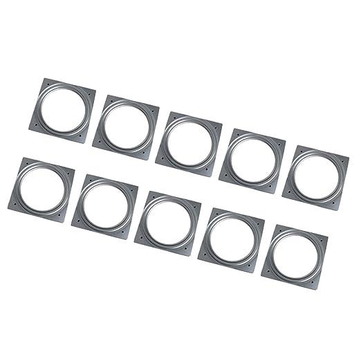 Magideal 10pcs 155 mm Plein rodamiento de bolas placa giratoria de ...