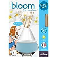 Devineau 1612522 Bloom Diffuseur de à Froid Coloré Parfum Monoï Tiaré 150 ml
