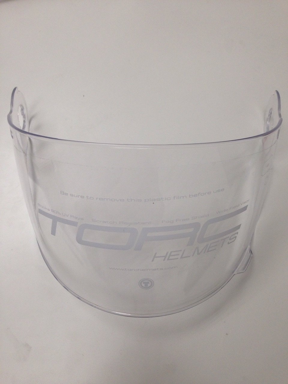 TORC-T1 Unisex-Adult's Helmet Shield (Clear, One Size)