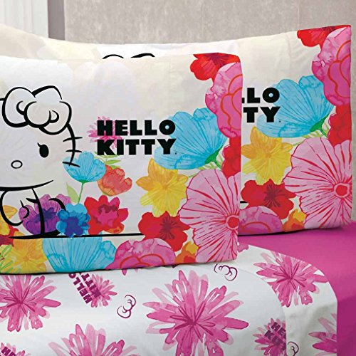 Hello Kitty Bedding Sheet Set TWIN Decoration LIMITED EDTION - 3PC