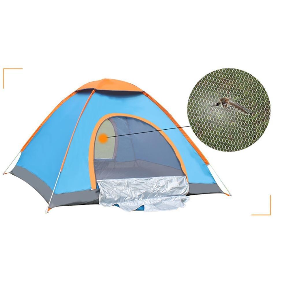MIAO Camping Personas Oxford Tela 2 Personas Camping Tendas Automáticas Tiendas de campaña , Verde 6c6cc6
