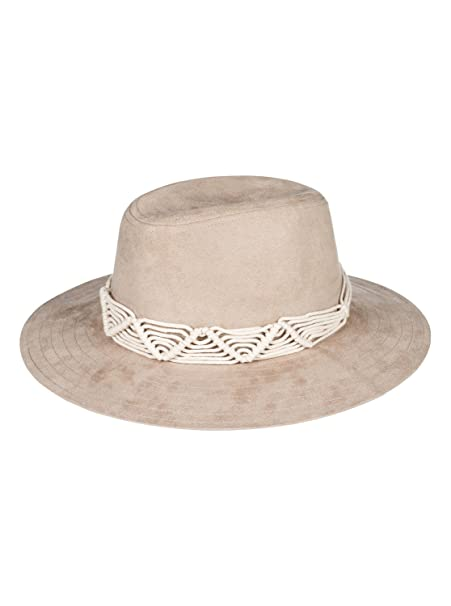 Roxy Womens Da Vida - Fedora Hat - Women - S - Multicolor Natural S  319402fbd32