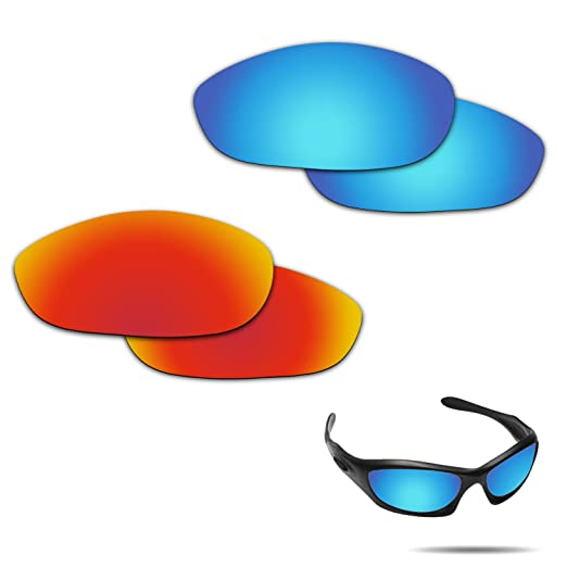 aa949d1bc3 Image Unavailable. Image not available for. Color  Fiskr Anti-saltwater Polarized  Replacement Lenses for Oakley Monster Dog ...